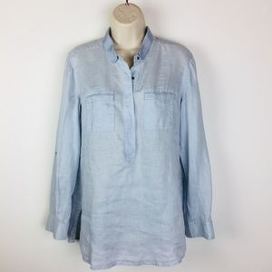 Chico's 100% Linen Shirt/Blouse A074